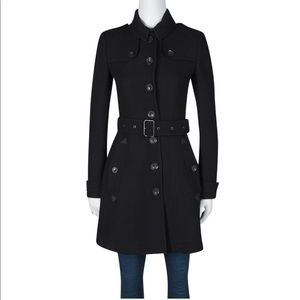 Burberry Brit Wool and Cashmere Trench Coat